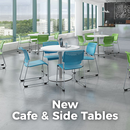 New Cafe & Side Tables