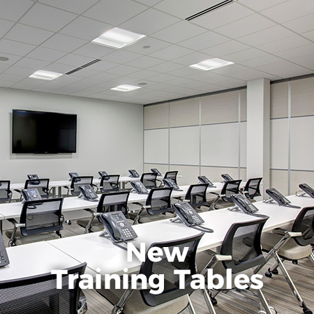 New Training Tables