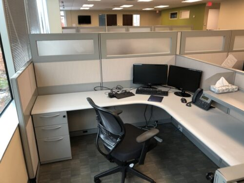 Steelcase Sit To Stand Electric L Desks Po Sc1817